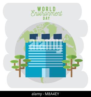 La journée mondiale de l'environnement Banque D'Images