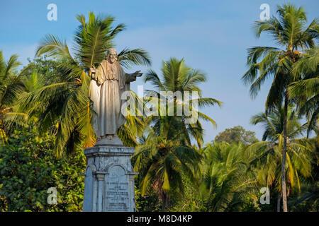 Jésus statue cathédrale Sé Old Goa Inde