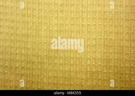 Gaufres d'or avec fond de grille régulière Banque D'Images