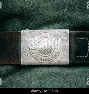 choisir l'original le rapport qualité prix chaussures de tempérament Boucle de ceinture soldat Wehrmacht allemande pendant la ...