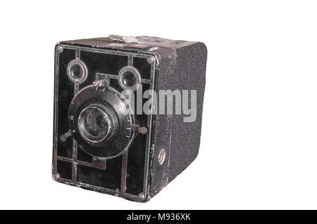 Ancien appareil photo Kodak Brownie 620 Banque D'Images