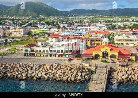 Le Port de Zante Basseterre, Saint Kitts, West Indies