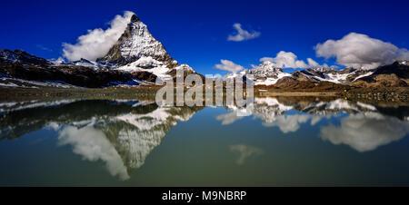 Le Matterhorn - Monte Cervino - Le Cervin Banque D'Images