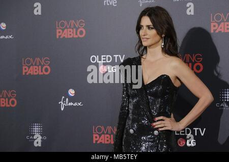 'Aimer Pablo' Premiere à Madrid avec: Penelope Cruz Où: Madrid, Espagne Quand: 07 Mar 2018 Crédit: Oscar Gonzalez/WENN.com Banque D'Images