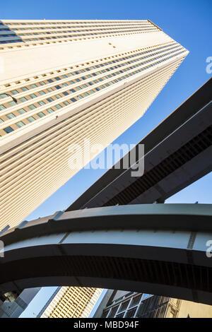 Japon, Tokyo, Asie, Orient, Ikebukuro, Sunshine City 60 bâtiment, les hauts gratte-ciel gratte-ciel gratte-ciel hauts bâtiments tours, Metropo Banque D'Images