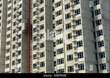 Un nouveau bloc d'appartements est presque terminé en zone résidentielle de l'ouest de Ningde Shanshui Hotel Beijing, Chine