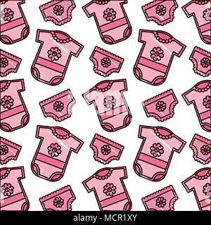 Carte de douche de bébé Banque D'Images