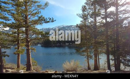 Mammoth Lakes en Californie Banque D'Images