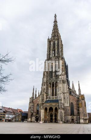 Vue d'Ulm Minster - Allemagne, Bade-Wurtemberg