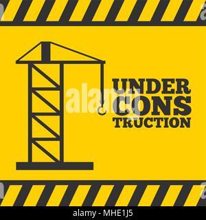 Concept de construction Banque D'Images