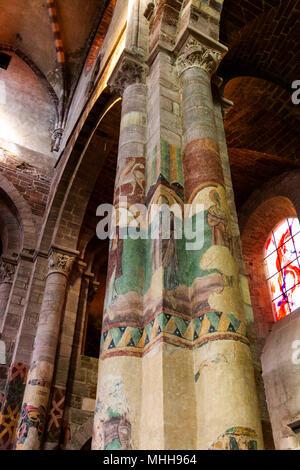 Haute-Loire (43) Fresques de la Basilique Saint Julien de Brioude // France. Haute Loire (43) Fresques de la Basilique Saint Julien de Brioude