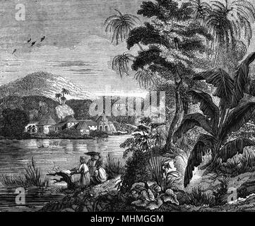 Un sucre explique sa, Jamaïque, Caraïbes Date: 1837