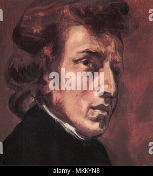 Frédéric Chopin Banque D'Images