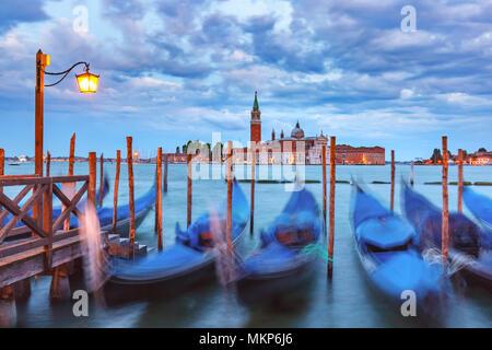 Église de San Giorgio Maggiore à Venise, Italie Banque D'Images