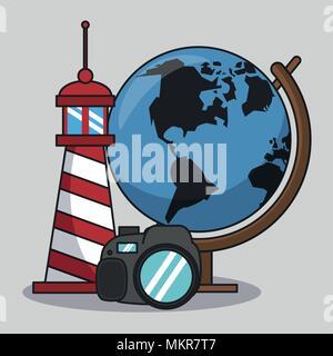 Voyages et vacances Banque D'Images