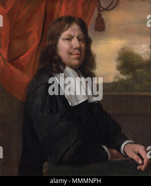 Auto-portrait, par Jan Havicksz Steen auto-portrait. Circa 1670. 1670 Jan Havicksz. Steen - zelfportret Banque D'Images