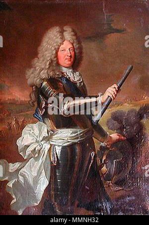 Anglais: Louis de France, Dauphin (1661-1711), dit le Grand Dauphin Louis de France, Dauphin (1661-1711), connu comme le Grand Dauphin. 1688. Louis de France 1661 1711 Banque D'Images