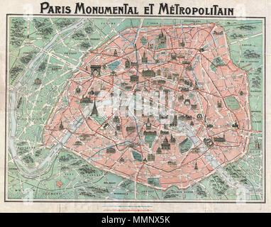 carte france touriste par bâtiment