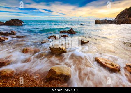 Seascape.Composition magnifique de la nature. Banque D'Images