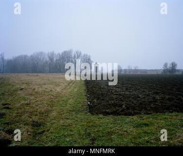 Libéré le 27 janvier 1945 n. Auschwitz II-Birkenau camp de concentration dans la ville du sud-ouest de la Pologne. Banque D'Images