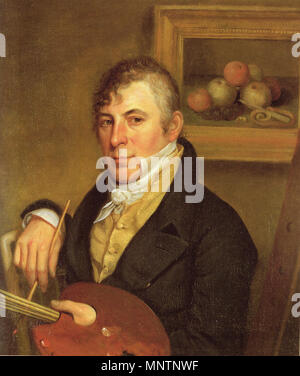 . Peinture Raphaelle Peale par Charles Willson Peale . 1822. Charles Willson Peale 1741-1827 1043 Raphaelle peale charles willson peale Banque D'Images