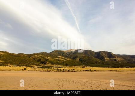 Des couleurs magnifiques de Great Sand Dunes National Park and Preserve, San Luis Valley, Colorado, United States