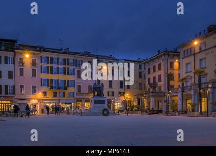 Piazza della Vittoria à Salo, Italie