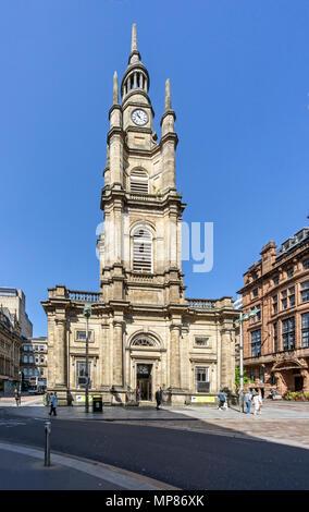 St George's Church of Scotland Tron church in Buchanan Street centre ville de Glasgow Scotland UK