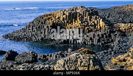 La Chaussée des Géants, Bushmills, County Antrim, Northern Ireland, UK, FR.