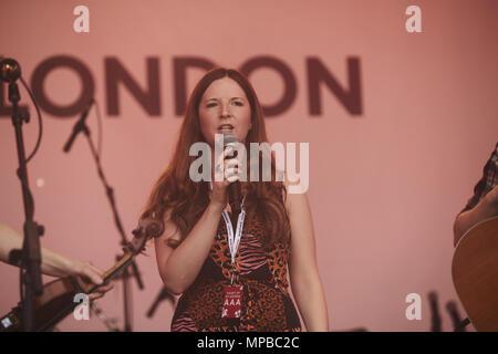 La Fête de St George - Performances Avec: Abbie McCarthy Où: London, Royaume-Uni Quand: 21 Avr 2018 Crédit: WENN.com