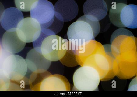Flou d'arrière-plans, coloré couleur fond flou floue de l'oignon Banque D'Images