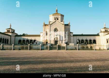 L'Italie, Lombardie, Milan, Cimitero Monumentale Banque D'Images
