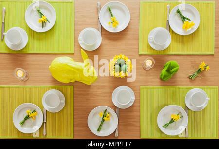 Mis à table de Pâques Banque D'Images