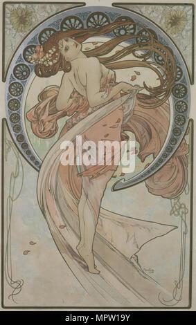 La danse (à partir de la série des Arts), 1898.