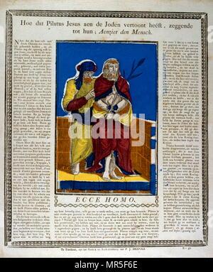 9acaccce neerlandais-ou-allemand-17e-siecle-gravure-sur-bois-representant-ecce-homo-voici-lhomme-les-mots-utilises-par-ponce-pilate-dans-la-vulgate-traduction-de-  ...