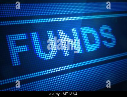 Fonds d'écran numérique 3d illustration avec la couleur bleue