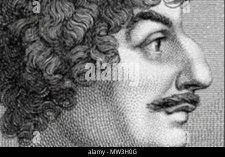 . Anglais: Robert Herrick face . 8 décembre 2010, 08:21:14. 524 Robert Herrick visage inconnu Banque D'Images