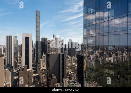 'Cityscape avec gratte-ciel à New York City, USA' Banque D'Images
