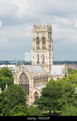Doncaster Minster - St George's Minster, Doncaster, South Yorkshire, Angleterre, Royaume-Uni