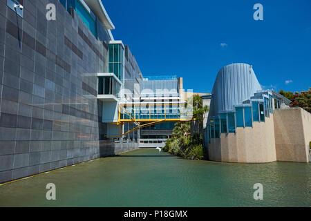 Le Musée Te Papa de Nouvelle-Zélande, Wellington, Île du Nord, Nouvelle-Zélande Banque D'Images