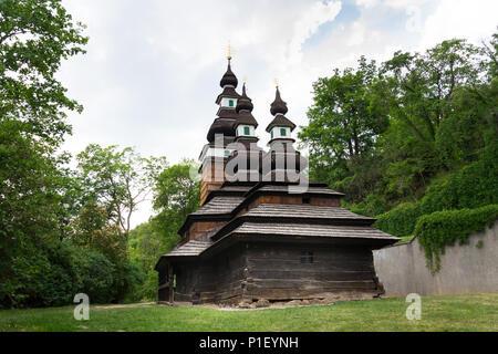 L'Église ruthène des Carpates de Saint Michel Archange, Petrin, République Tchèque Banque D'Images