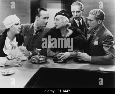 Titre original: bref moment. Titre en anglais: bref moment. Directeur du film: David Burton. Année: 1933. Stars: GENE RAYMOND, Carole Lombard. Credit: Columbia Pictures / Album