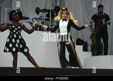 Glastonbury Festival 2015 - Photo Sat 27/06/2015 Paloma Faith Banque D'Images