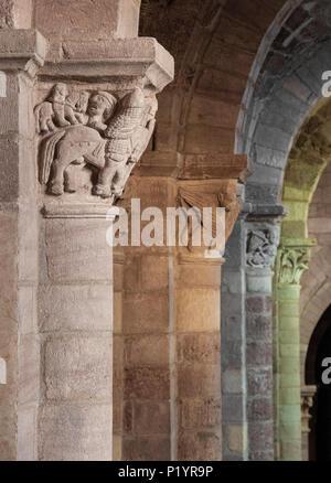 La France, l'Auvergne-Rhones-Alpes, Haute-Loire, basilique Saint-Julien de Brioude