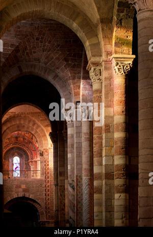 La France, l'Auvergne, la basilique Saint-Julien de Brioude