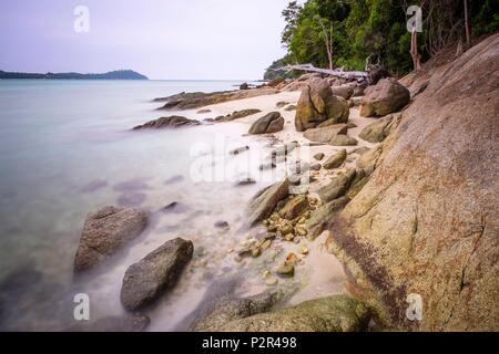 La Thaïlande, province de Phang Nga, Parc national marin de Tarutao, Ko Adang Banque D'Images