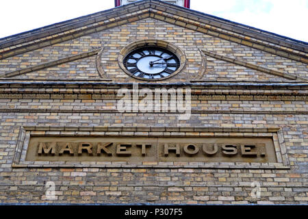 Altrincham réussie de marché de la ville (similaire au Borough Market), Trafford Conseil, le Grand Manchester, au nord ouest de l'Angleterre, Royaume-Uni