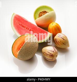 Assortiment de melons Banque D'Images
