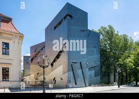 Berlin, Allemagne, Musée Juif de Lindenstrasse à Berlin-Kreuzberg Banque D'Images