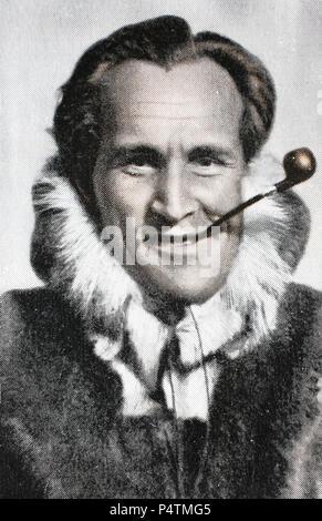 """Luis Trenker (né Alois Franz Trenker, 4 octobre 1892 â€"""" 13 avril 1990) était un producteur de films du sud du Tyrol, directeur, scénariste, acteur, architecte, et l'alpiniste, l'amélioration de la reproduction numérique d'une image historique Banque D'Images"""